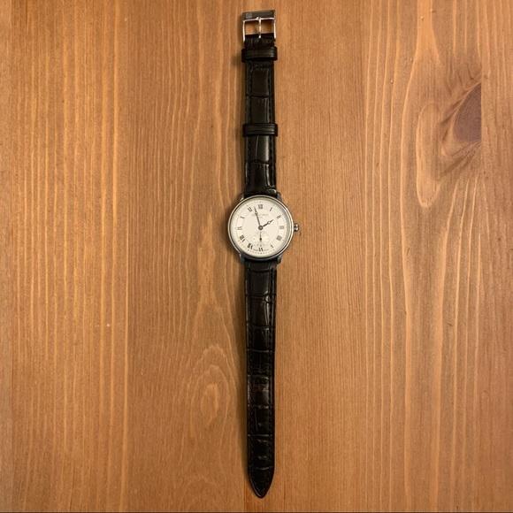 Frederique Constant Wrist Watch Crococalf Leather